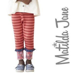 Matilda Jane Coral Camilla Ribbed Leggings